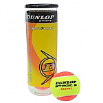 PALLE TENNIS DUNLOP DEPRESSURIZZATE STAGE 2 ORANGE