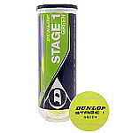 PALLE TENNIS DUNLOP MID STAGE 1 GREEN - ACQUISTA 24 TUBI